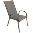 Imagen de Juego de jardín 6 sillones y mesa rectangular - Gris